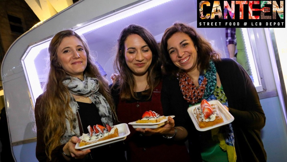 Canteen street food nights - the last Friday each month 4-10pm