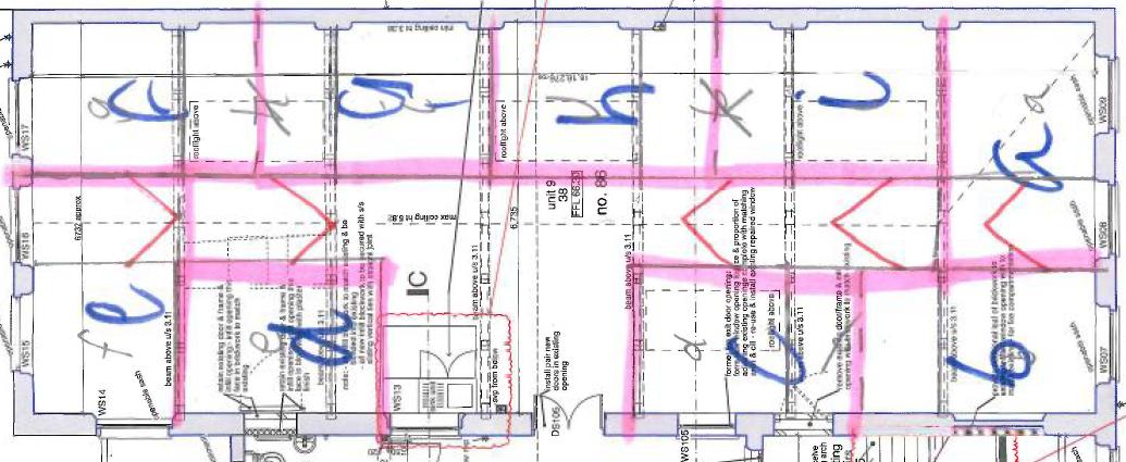 Studio 9 floorplan sketch