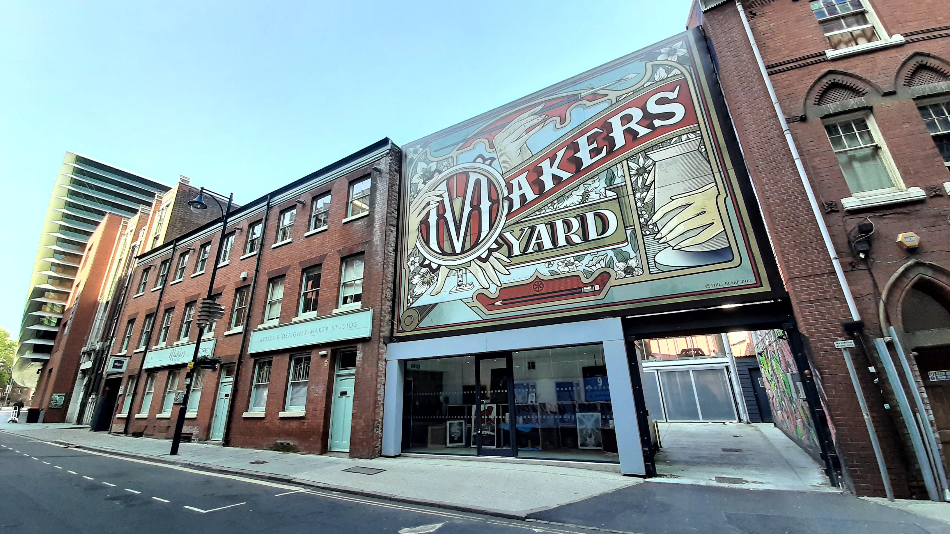 Makers' Yard front facade June 2021