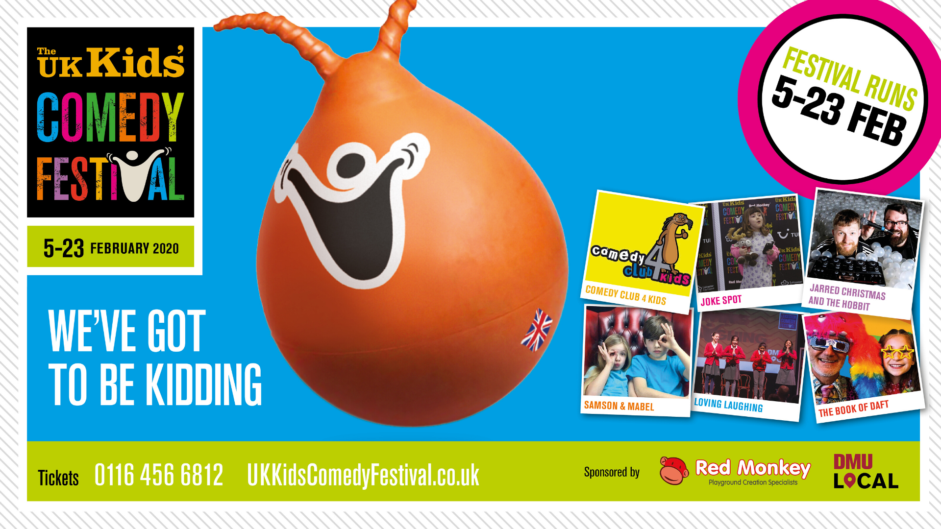 UK Kids Comedy Festival poster
