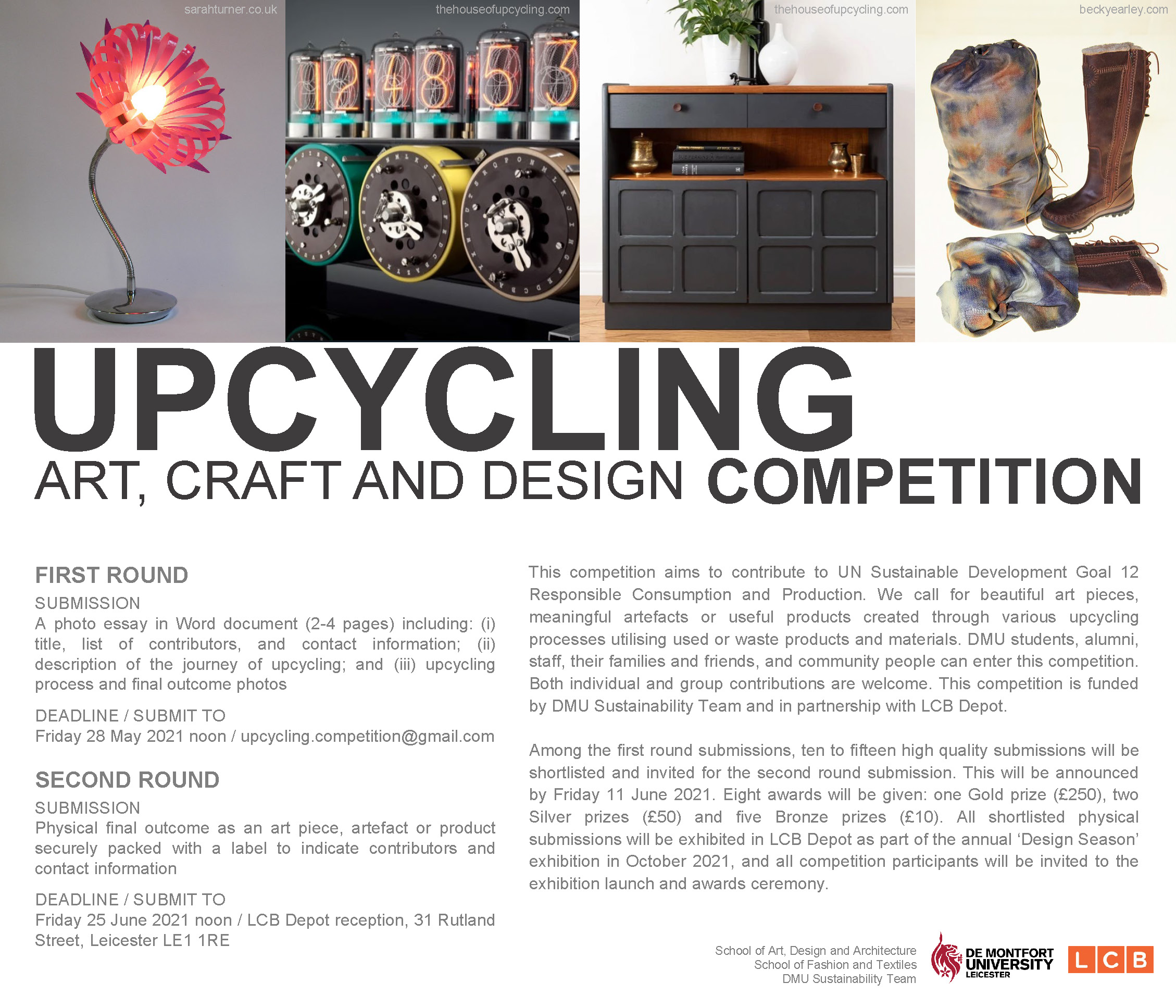 DMU/LCB upcycling competition