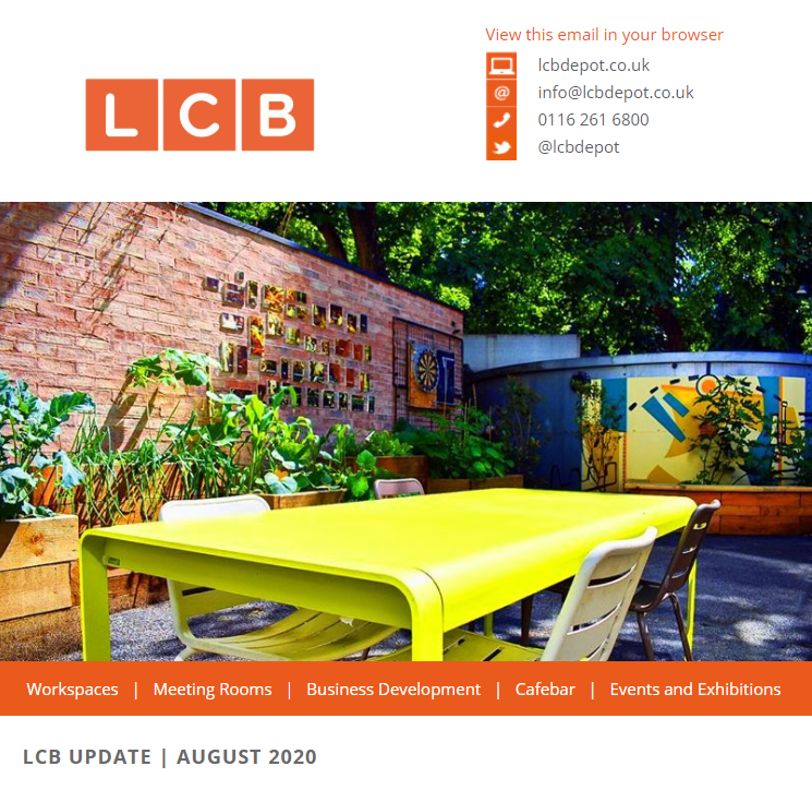 LCB Update newsletter