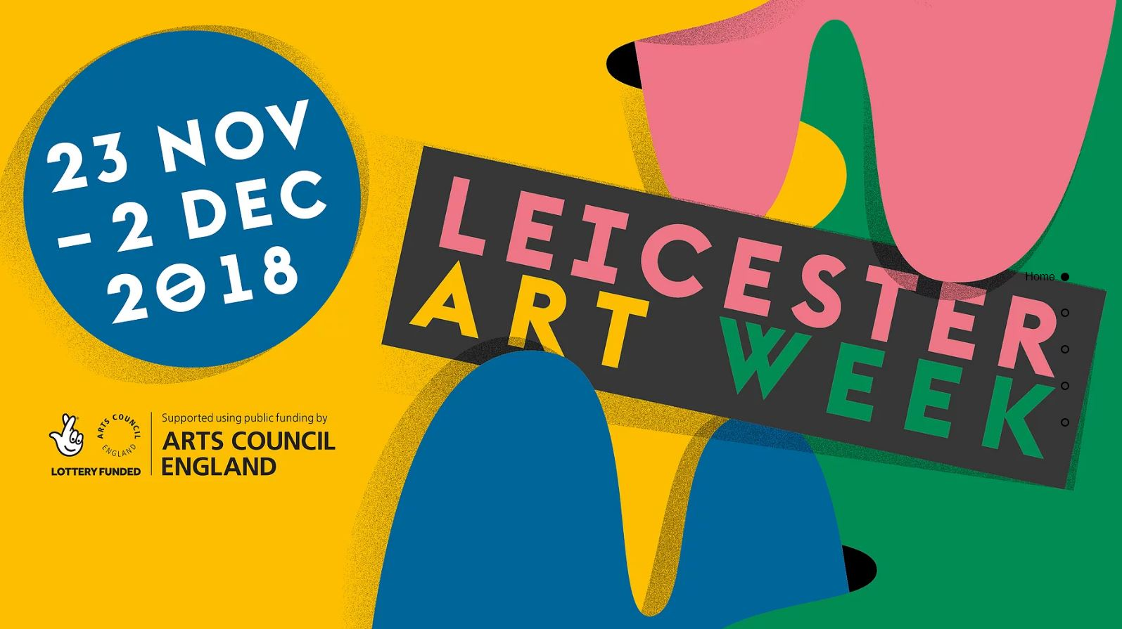 Leicester Art Week ad