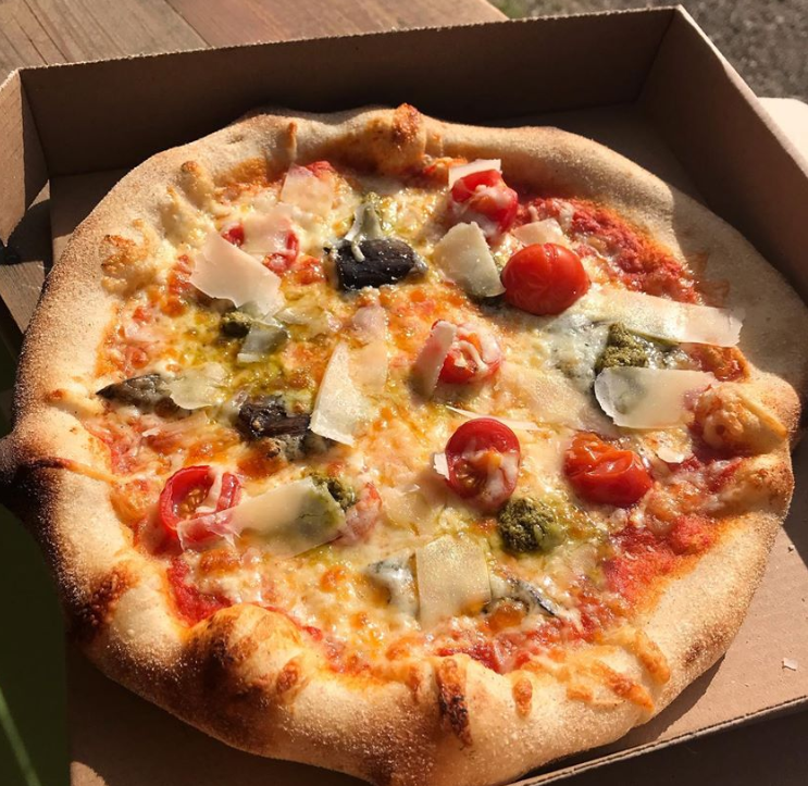 Chez Sebastien pizza