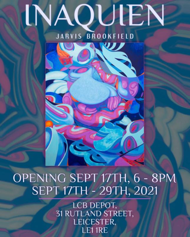 Inaquien exhibition poster