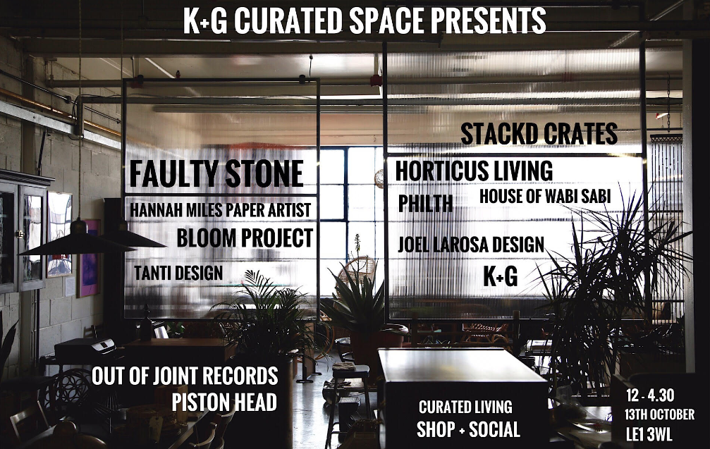 K and G Curated Living Event