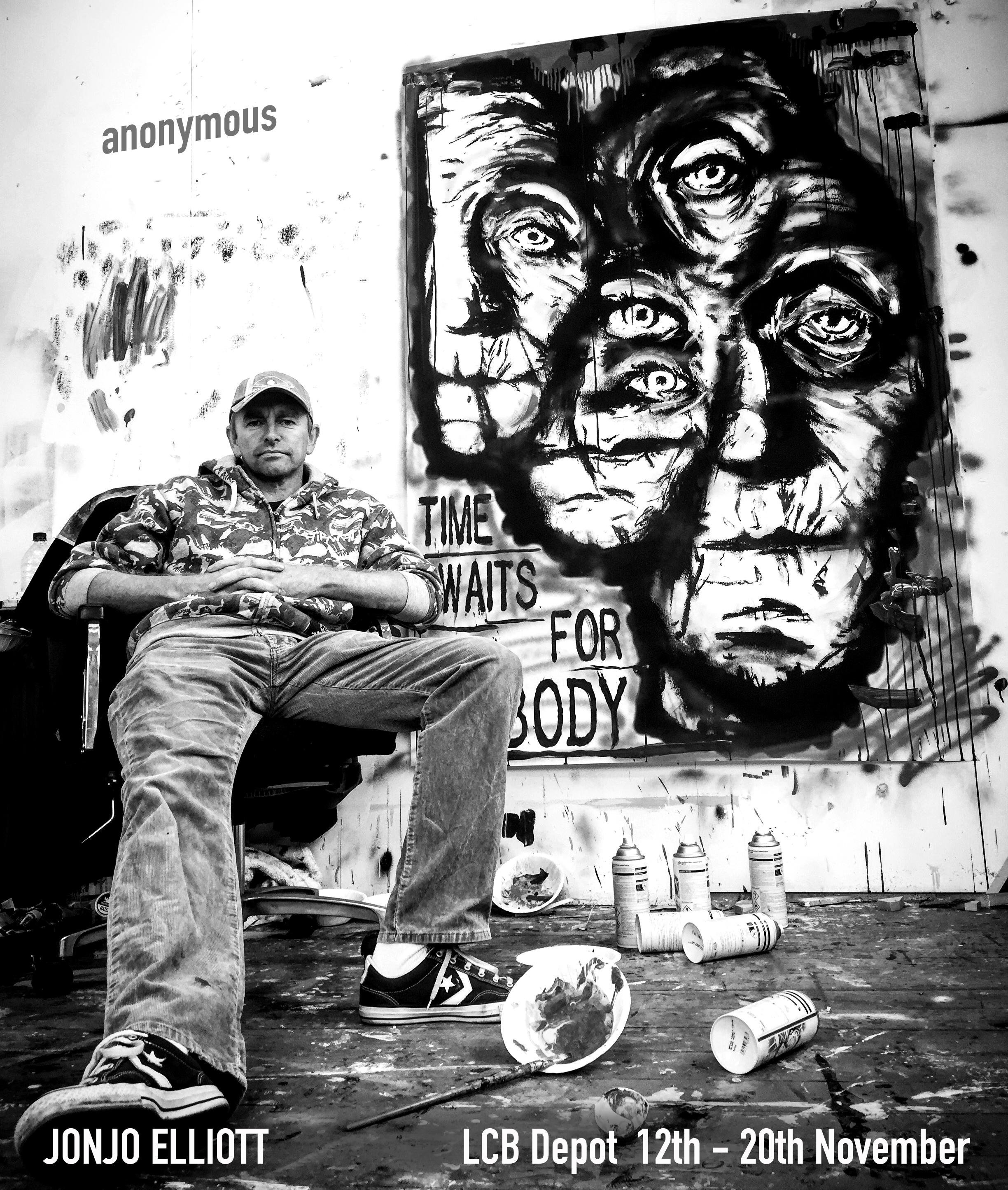 Jonjo Elliott's Anonymous poster