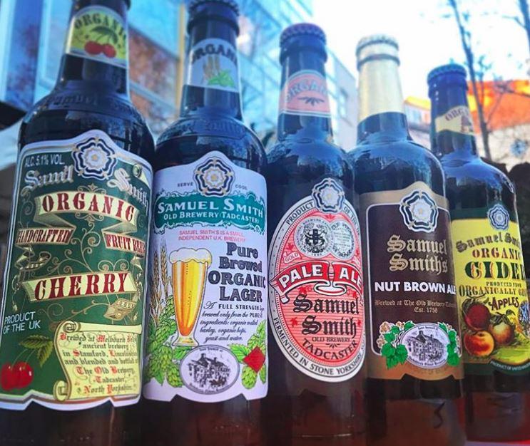 Samuel Smith bottled beers